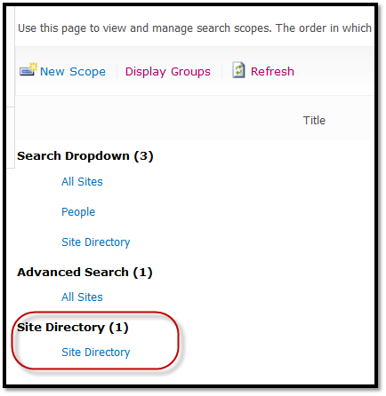 Specify Scope in Search Box Web Part | SharePoint Diva